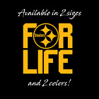 Pittsburgh Steelers For Life Decal Black and Yellow NFL Nation Football  BEN #7 $9.0 USD on eBay