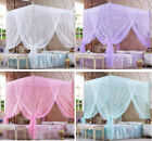 Princess Bed Canopy Mosquito Netting Post Frame Bedding Insect Net All Sizes image