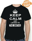THE SMITHS KEEP CALM T-Shirt / INDIE / Music / Manchester / Birthday / All Sizes