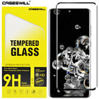 Samsung Galaxy S20 Ultra S10 Plus S10e 3D Curved Tempered Glass Screen Protector