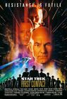 232347 STAR TREK: FIRST CONTACT 1996 MOVIE WALL PRINT POSTER AU on eBay
