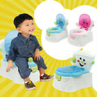 Baby Child Potty Toilet Trainer Chair Step Stool Adjustable Training Chair Unise image