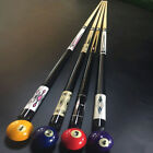 "58"" 4/3/2/1-Piece Canadian Hardwood Maple Billiard Pool Cue Stick (Random Color) £29.95 GBP on eBay"