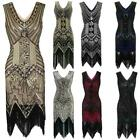 1920s Vintage Flapper Gatsby Wedding Party Evening Prom Sequin Fringe Dress HOT