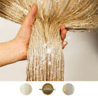 Glitter String Door Curtain Beads Room Dividers Beaded Fly Fringe Window Panel