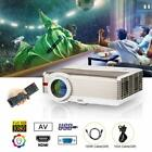 EUG HD 1080P Home Theater Projector Party Xbox Gaming Proyector HDMI VGA USB US