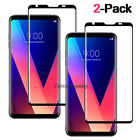 Privacy Tempered Glass Screen Protector For LG Stylo 6 5 4 V40 V30+ K30 G7 ThinQ