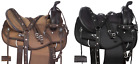Used Texas Star Silver Trail Light Weight Synthetic Western Horse Saddle Cordura