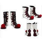 Stephen King It Pennywise Cosplay Costume The Clown Halloween Joker Outfit