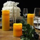 "4"" 6"" 8"" LED Pillar Candles Lights with Remote Control Home Wedding Centerpieces"