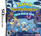 Pokemon Mystery Dungeon: Blue Rescue Team (Nintendo DS, 2006) Complete in Case