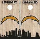 Los Angeles Chargers Cornhole Wrap NFL Game City Skyline Skin Vinyl Decal CO870 $59.95 USD on eBay