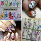1pc Popular Cactus Feather Insect DIY Nail Sticker Manicure Tools Nail Sticker