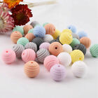 Spiral Silicone Teething Beads BPA Free DIY Baby Chew Necklace Teether Jewelry