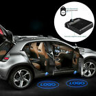 2/4 Pcs Wireless Led Car Door Logo Projecter Lights Welcome Shadow Lamp Light Uk