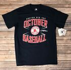 Mens Boston Red Sox October 2018 Post Season Navy T-shirt Size S, M, L, XL, XXL