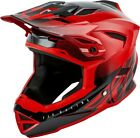 Fly Racing Default Youth Mountain Bike Helmet Red/Black