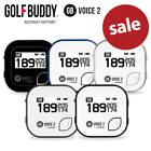 Golf Buddy Voice 2 GPS Measuring Device 40,000 Courses
