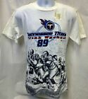 VINTAGE TENNESSEE TITANS FRANK WYCHECK #89 T-SHIRT M L XL FREE SHIPPING $10.0 USD on eBay