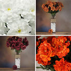 216 ZINNIA Silk Flowers - WHOLESALE Discount for Wedding Bouquets Centerpices