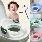 US Training Seat Toilet Trainer Seats for Toddlers Boy &Girl with Cushion Handle image