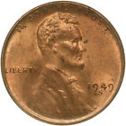 1949 S Lincoln Wheat Cent Uncirculated Penny US Coin