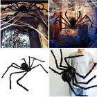 Black Spider 2019 Halloween Decoration Haunted House Prop Indoor Outdoor