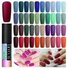 LILYCUTE Nail UV Gel Polish Matte Soak Off Top Base Coat Gel Nail Art Varnish