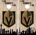 Vegas Golden Knights Cornhole Wrap NHL Game City Skyline Skin Vinyl Decal CO912 $39.95 USD on eBay