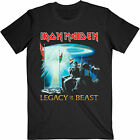 IRON MAIDEN Two Minutes To Midnight Legacy Of The Beast USA Tour 2019 T-SHIRT image