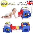 3/4 In 1 IGLOO Kids PopUp Play Tent Playhouse Tents Tunnel Ball Pit Toy Games