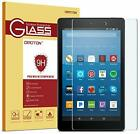 OMOTON Screen Protector for All-New Fire HD 8 (2018/2017/2016 Release), Tempered