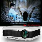 LCD Android WIFI Bluetooth Projector Home Theater Wireless Movie Game LED HDMI