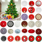 31 Type Christmas Tree Skirt Apron Stands Base Cover Floor Mat Home Xmas Decor