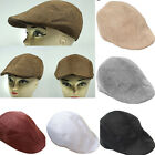 Unisex Summer Peaked  Beret Flax Cap Country Outdoors Golf Hat Fashion Cabbie^