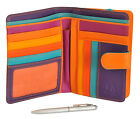 Mywalit Large Snap Wallet Zip Around Purse With Pen 229 image