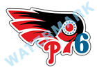 Philadelphia Flyers 76ers Phillies MASH UP Vinyl Decal / Sticker 10 Sizes!!! on eBay