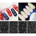 3d nail stickers christmas series transfer decals nail art decorations diy tips