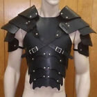 USA Men Medieval Vintage Leather Breastplate Pauldrons Armor Costume Cosplay