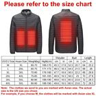 USB Electric Heated Hooded Coat Jacket / Winter Warm Heating Vest Temp Control