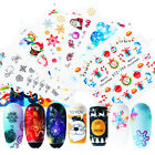 Christmas Nail Water Decals Snowflake Nail Art Transfer Stickers Decoration Tips