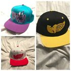 Wu Tang Hats Snapbacks Brand New 3 Different Colors Hornets Red Wings