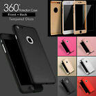 6x Cases / 6 Colours Protective 360 Shockproof Case Cover iPhone 6-7s & 6-7 Plus