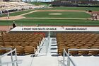 SPRING TRAINING TICKETS TEXAS RANGERS vs DODGERS 3/1/20 FRONT ROW DUGOUT AISLE on Ebay