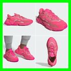 Adidas Ozweego UK SIZES Men & Womens Fuchsia Cyan Pink Trainers Sneakers Shoes