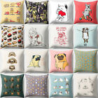 Cute Animal Print Pillow Case Sofa Cushion Cover for Bedroom Living Room Sanwood