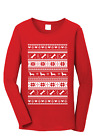 Ugly Christmas Sweater | Long Sleeve Shirt | Holiday Gift Men's Women's T-Shirt