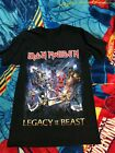 Iron maiden Legacy Of The Beast Tour 2019 T shirt Size S - 3XL Black image