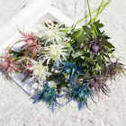 3 Branches Artificial Flower Plastic Eryngium Wedding Party Home Office Decor