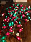 100, 50, or 20 Real Shotgun Shell Christmas Lights - All Red or Red & Green